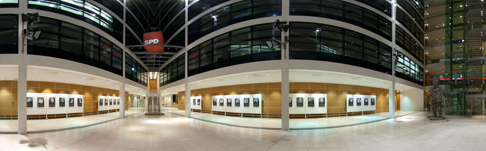 Ausstellungsansicht Willy Brand Haus