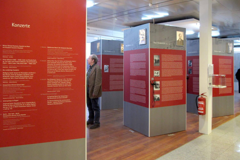 Verfemte_Komponisten_Ausstellungsansicht