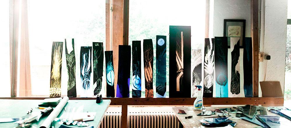 Glasmalerei Sattler Atelier schmal