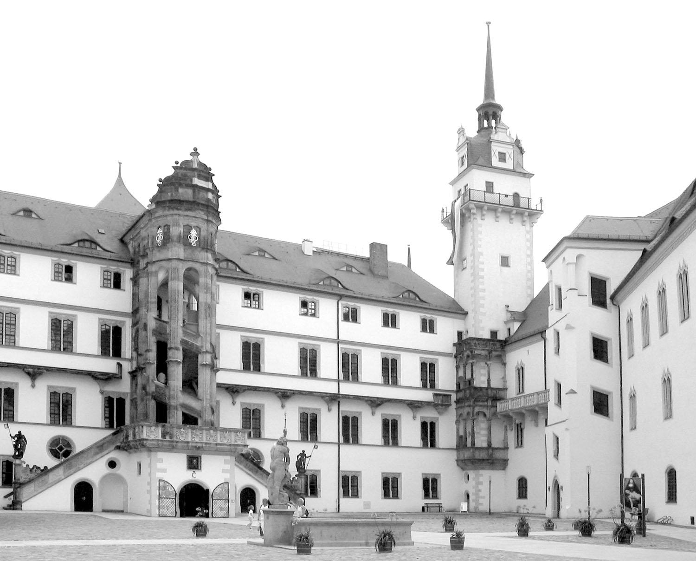 Schloss Hartenfels Torgau Innenhof